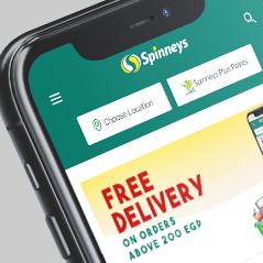 Mobile app Spinnyes